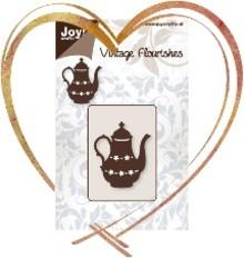 Joy!Crafts und JM Creation Präge- und Schneideschablone: Teekanne