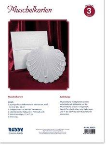 BASTELSETS / CRAFT KITS: Kit Craft per 3 carte Shell