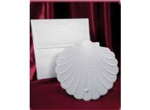 BASTELSETS / CRAFT KITS: Craft Kit for 3 embossed seashell cards
