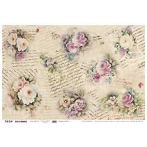 50x70cm papel Soft - Romance