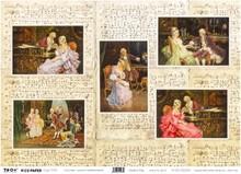 DECOUPAGE AND ACCESSOIRES Rice Paper 35 x 50cm - Canovas Entertainments