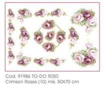 Soft-Paper 50x70cm - Crimson Roses