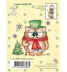 Leane Creatief - Lea'bilities en helt sød mini Clear stamps!