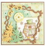 Leane Creatief - Lea'bilities Mini Transparent Stempel, Stempel - Popco winter