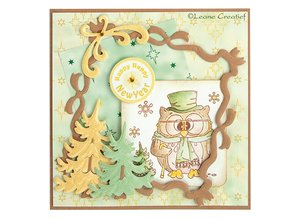 Leane Creatief - Lea'bilities Mini Transparent Stamps, Stamp - Popco winter