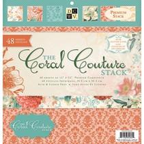 Designer blok, Coral Couture papirstakken