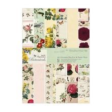 DESIGNER BLÖCKE  / DESIGNER PAPER Designer Block, A4, magiske mønstre, Botanicals