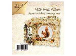 Joy!Crafts und JM Creation Handcraft Kits MDF, MDF book 4x denser / 1x open frame