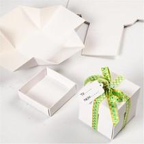 Bastelset zur Gestaltung von 5 Schachtelchen
