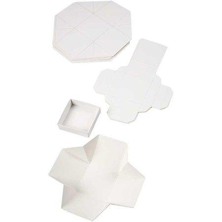 Dekoration Schachtel Gestalten / Boxe ... Bastelset zur Gestaltung von 5 Schachtelchen
