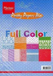 Marianne Design Pretty Paper Bloc, A5, full color