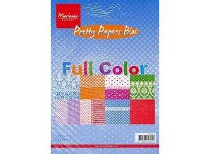 Marianne Design Temmelig Paper Bloc, A5, fuld farve
