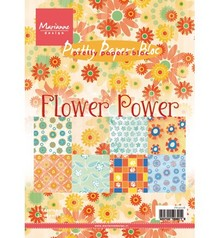 Marianne Design Smukke Papers - A5 - Flower Power
