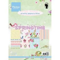 Pretty Papers - A5 - tiempo de primavera
