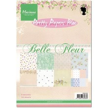 Marianne Design Papers Piuttosto, A5, Belle Fleur