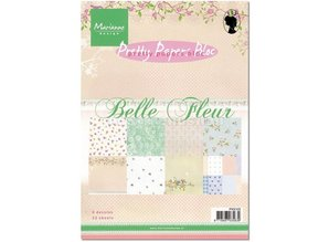 Marianne Design Pretty Papers, A5, Belle Fleur