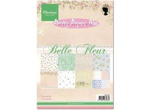 Marianne Design Smukke Papers, A5, Belle Fleur