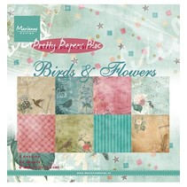 Marianne Design, Pretty Papers - 15.2 x 15.2cm - Birds & Flowers