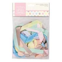 varios tonos pastel cintas decorativas, 20