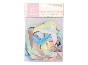 DEKOBAND / RIBBONS / RUBANS ... various decorative ribbons pastel shades, 20