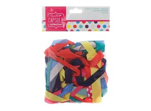 DEKOBAND / RIBBONS / RUBANS ... by various decorative ribbons warm colors, 20 pieces