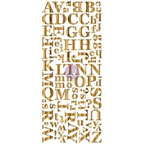 Træfiner Mørke alfabet, alfabet, skove