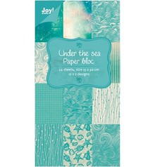 Joy!Crafts und JM Creation Designer Block, under the Sea