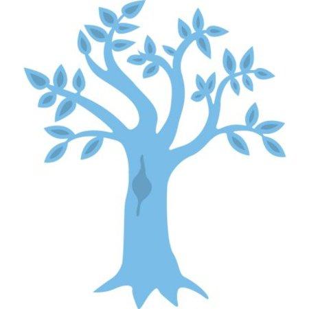 Marianne Design Estampación y embutición de la plantilla, árbol
