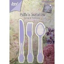 Joy Crafts, stempling og prægning Stencil