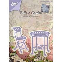 Alegría Crafts, y el estampado de la plantilla