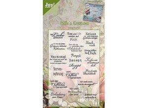Joy!Crafts und JM Creation Joy Craft Clear stamps