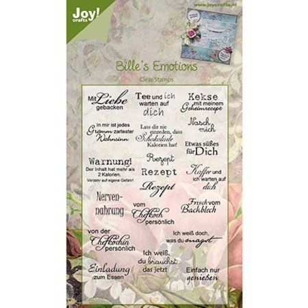 Joy!Crafts und JM Creation Joy CraftsTransparent Stempel
