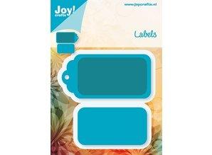 Joy!Crafts und JM Creation Stamping and embossing folder, Labels