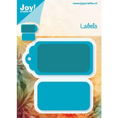Joy!Crafts und JM Creation Presning og prægning mappe, Etiketter