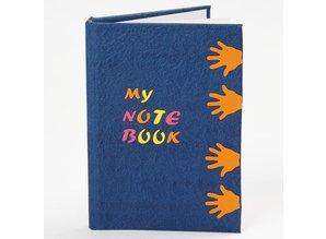 Objekten zum Dekorieren / objects for decorating Notebook, A6 10,5x15 cm, 1 stk