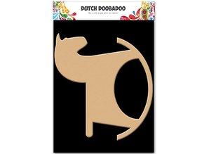 Dutch DooBaDoo Hollandsk DooBaDoo, Rocking Horse, 206x189mm