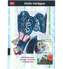 Viva Dekor und My paperworld Magic skabeloner til Tiffany teknik