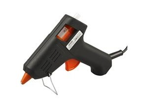 BASTELZUBEHÖR / CRAFT ACCESSORIES Mini glue gun, high temperature, 1 pc.