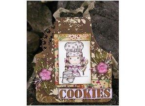 Objekten zum Dekorieren / objects for decorating DooBaDoo holandés - Mini álbum schort