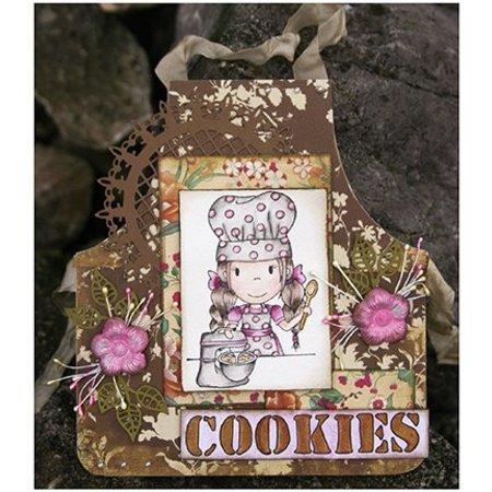 Objekten zum Dekorieren / objects for decorating Dutch DooBaDoo - Mini album schort