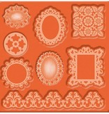 ModPodge Mod Podge, Mod Mold Ornaments, 95 x 95 mm, 8 Designs,