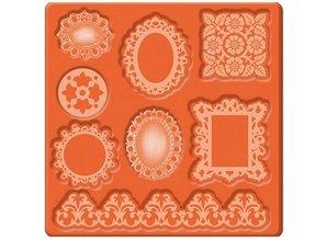 ModPodge Mod Podge Mod Mold Ornamenter, 95 x 95 mm, 8 designs