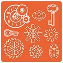 Mod Podge, Mold Mod industriali, 95 x 95 mm, 9 Designs