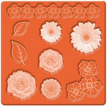 Mod Podge, Mod Mold Flowers, 95 x 95 mm, 9 Designs