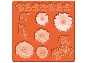ModPodge Mod Podge, Mod Mold Flowers, 95 x 95 mm, 9 Designs