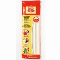 Mod Podge, Melts, ø 70 x 254 mm, 16 Stk., weiß