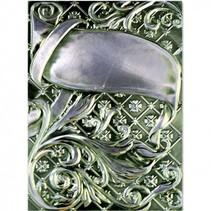 3D prægning stencil, M-Bossabilities, Ornamental Swirls