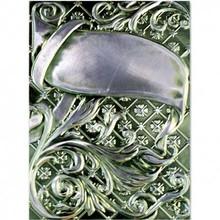 Spellbinders und Rayher 3D prægning stencil, M-Bossabilities, Ornamental Swirls
