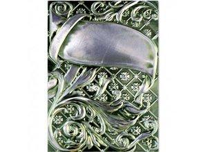 Spellbinders und Rayher 3D embossing stencil, M-Bossabilities, Ornamental Swirls, 12,7 x 17,8 cm, 1 Designs