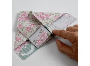 DESIGNER BLÖCKE  / DESIGNER PAPER Dobbeltsidet trykt papir designer, ark 30,5x30,5 cm, 1 ark, 120 gr